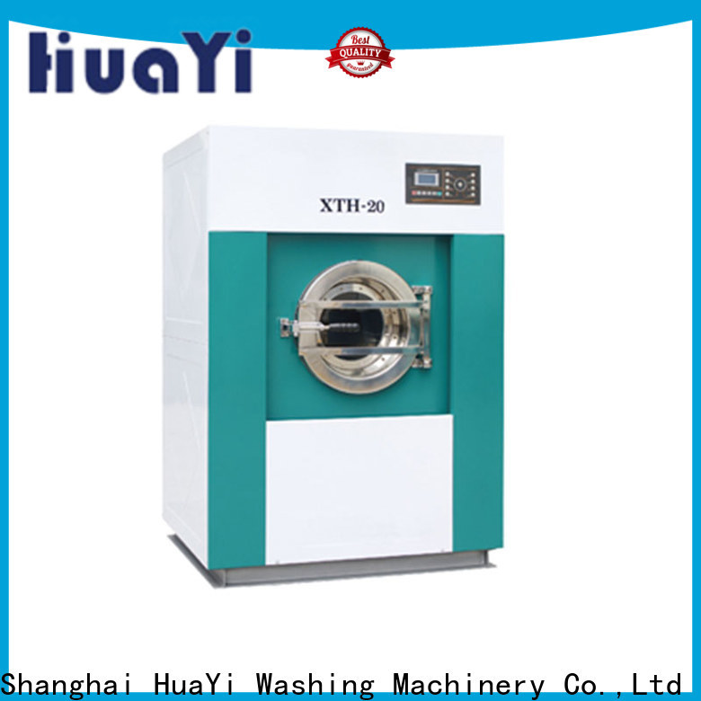 HuaYi low noise commercial laundry factory price for hotel