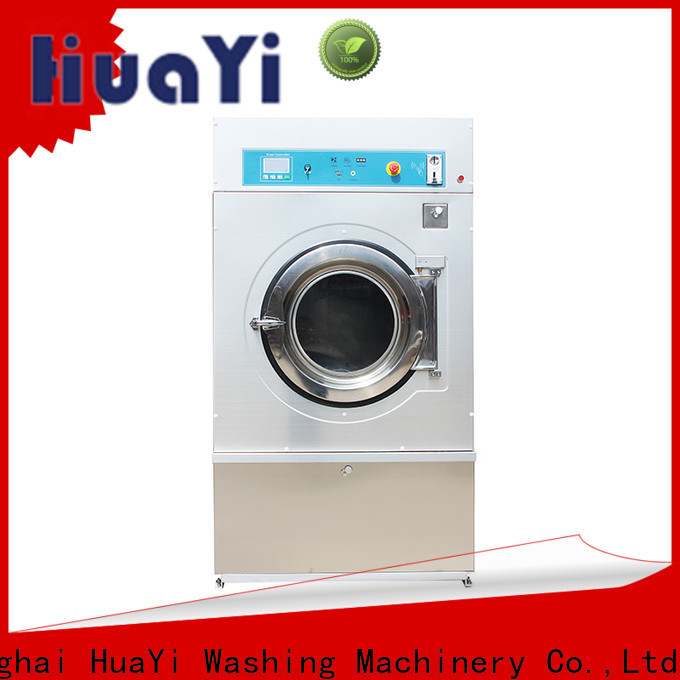 HuaYi coin operated washer and dryer online for baths