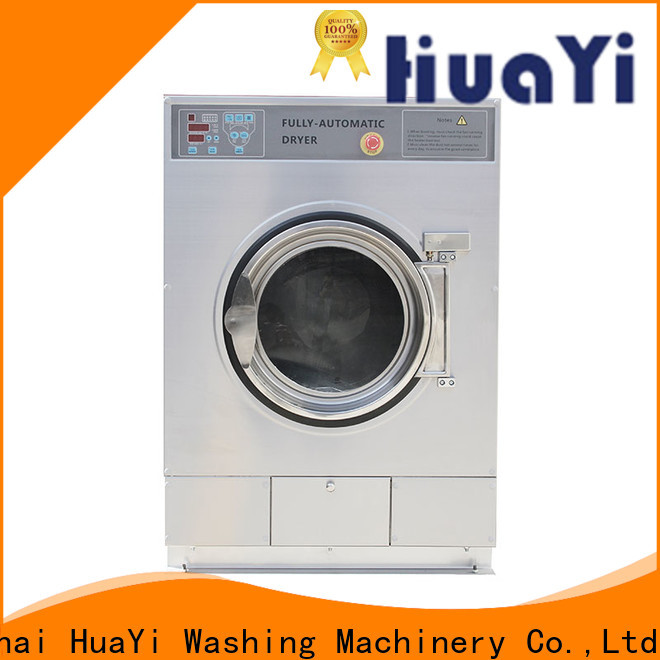HuaYi high efficiency commercial washer and dryer promotion for social welfare homes