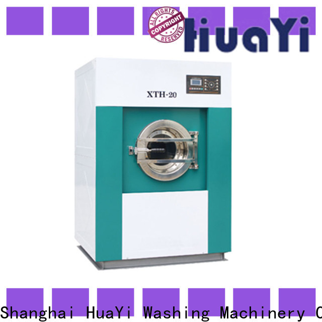 HuaYi industrial commercial laundry machine directly sale for restaurant