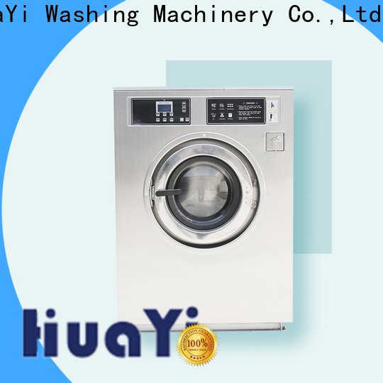 HuaYi automatic commercial laundry equipment factory price for military units