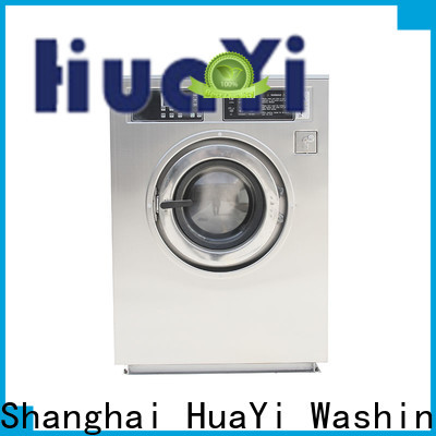 HuaYi washing machine with dryer directly sale for hotels
