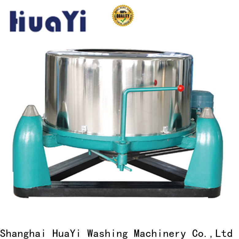 HuaYi commercial laundry equipment promotion for hotel