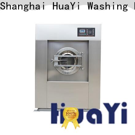 HuaYi energy saving laundry washing machine factory price for washing industry