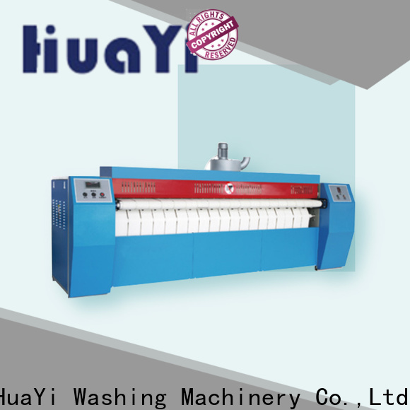 HuaYi industrial ironing machine promotion for hotel
