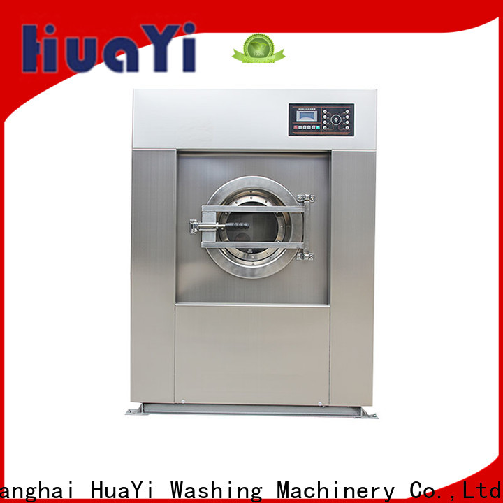 HuaYi energy saving industrial laundry machine promotion for military units