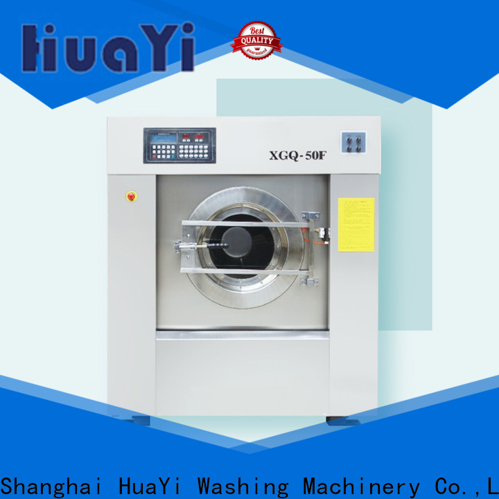 HuaYi energy saving laundry machine supplier for hospital