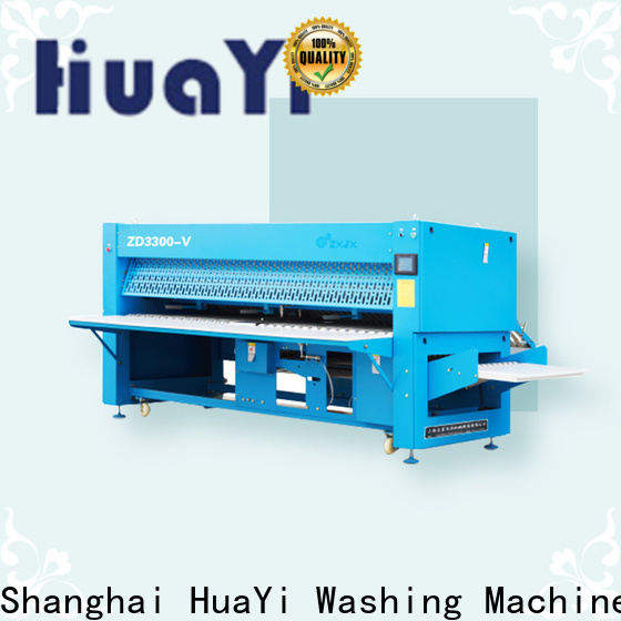 HuaYi commercial laundry folding machine on sale for bath