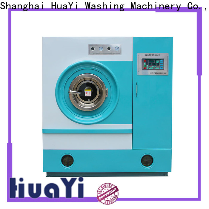 HuaYi dry cleaning washing machine directly sale for hotel