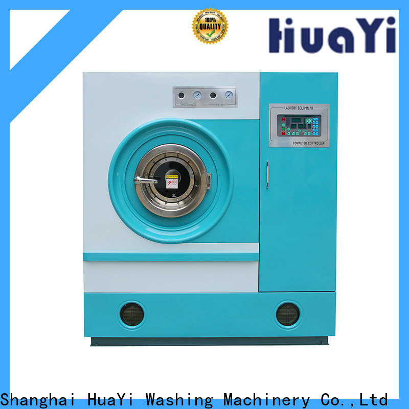 HuaYi flexible dry cleaning equipment directly sale for lundry factory