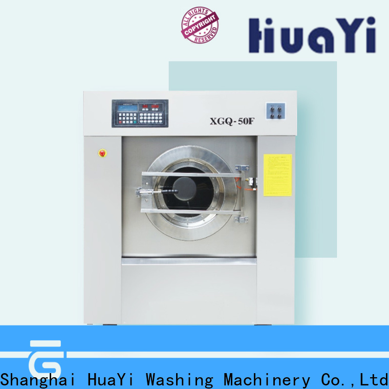 HuaYi commercial laundry equipment factory price for restaurant