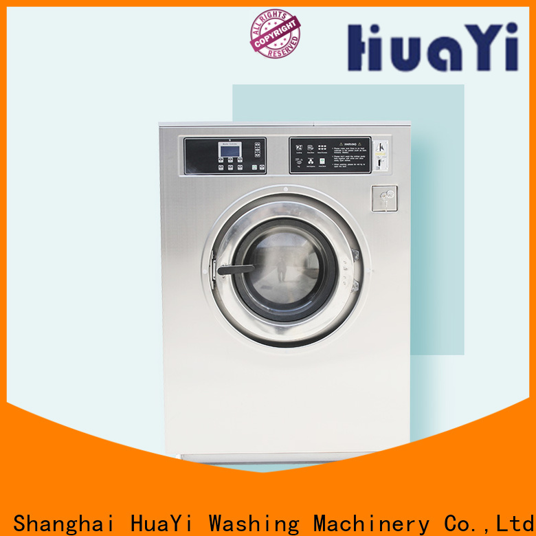 HuaYi energy saving fully automatic washing machine at discount for washing industry