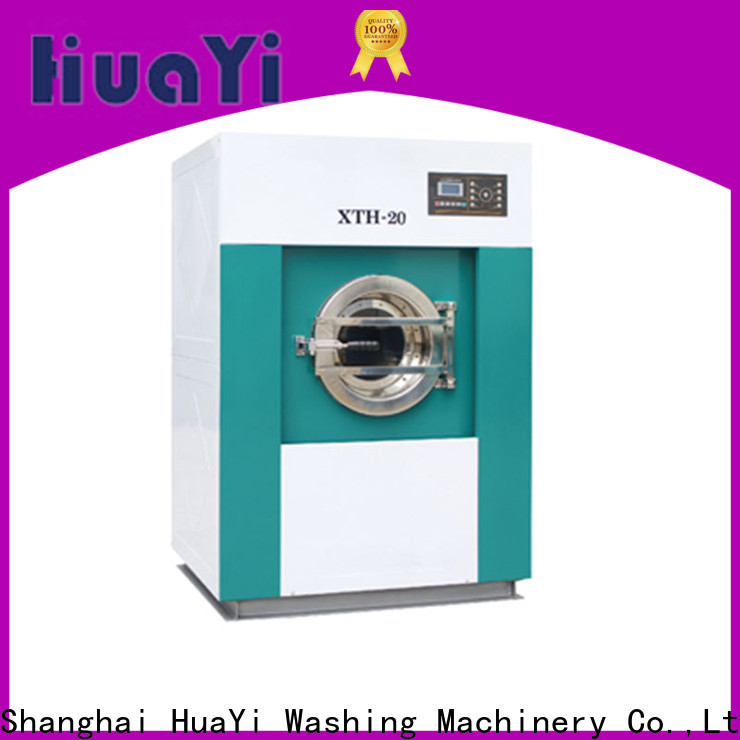 HuaYi automatic washing machine size factory price for restaurant