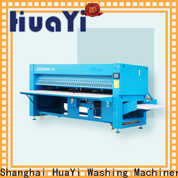 HuaYi sheet folding machine manufacturer for hotel