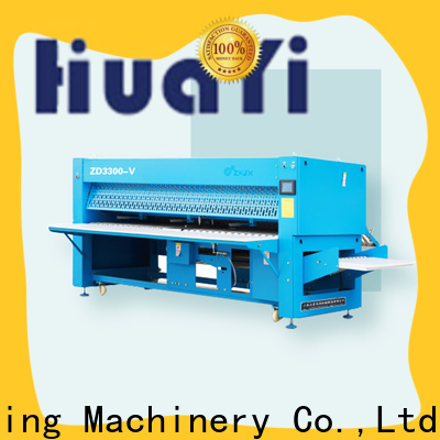 precise automatic laundry folder factory price for laundry shop