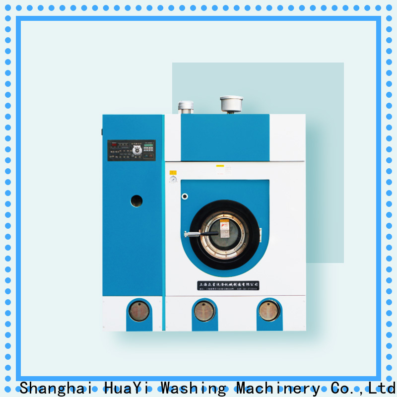 HuaYi professional dry cleaner machine wholesale for hotel