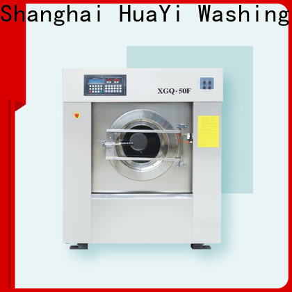 HuaYi commercial washer factory price for guest house