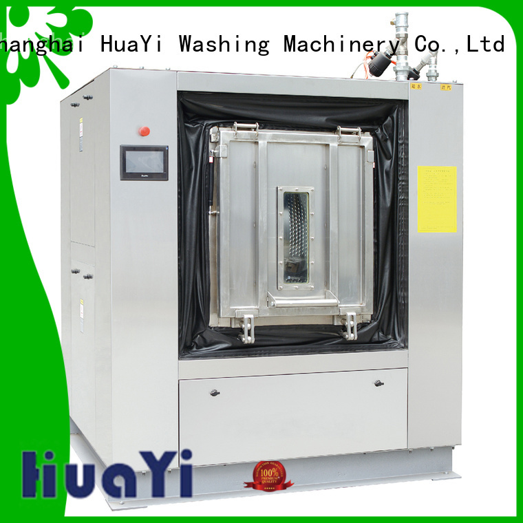 commercial laundry washer promotion for restaurant