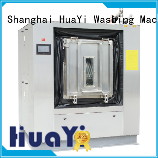 HuaYi automatic commercial washing machine directly sale for military units