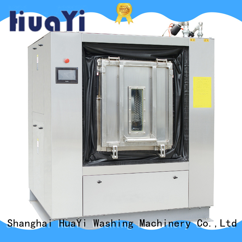 HuaYi fully automatic washing machine factory price for restaurant