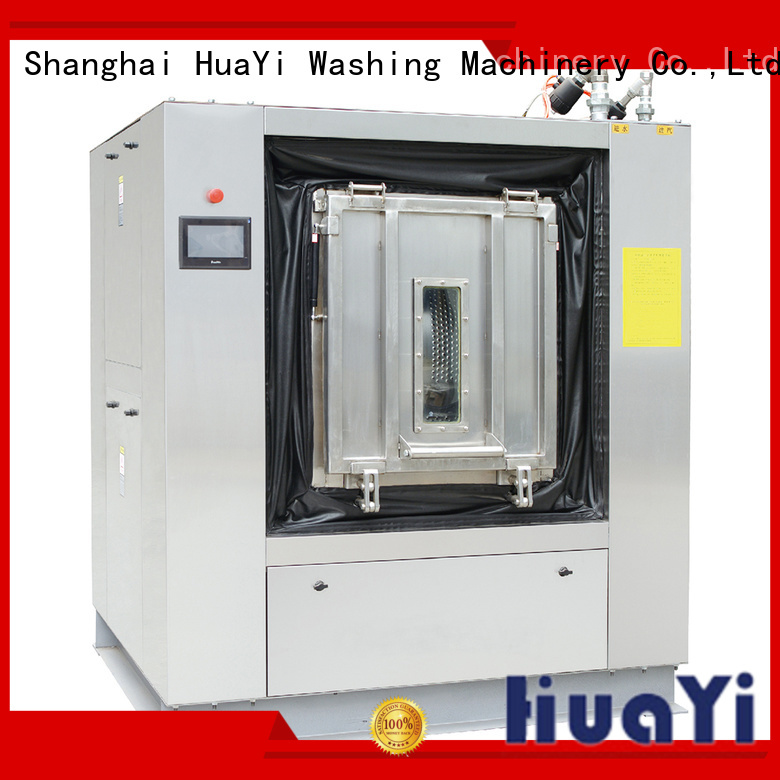 HuaYi industrial laundry washing machine supplier for hotel