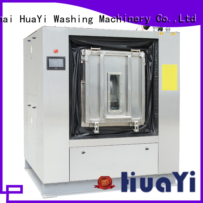 HuaYi low noise laundry washing machine supplier for restaurant
