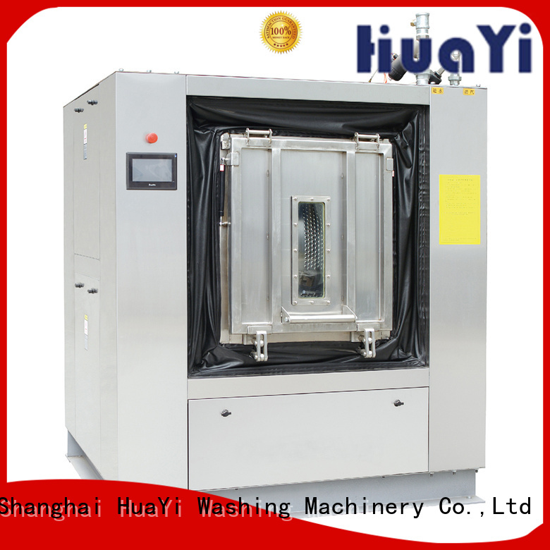HuaYi automatic washing machine size supplier for military units
