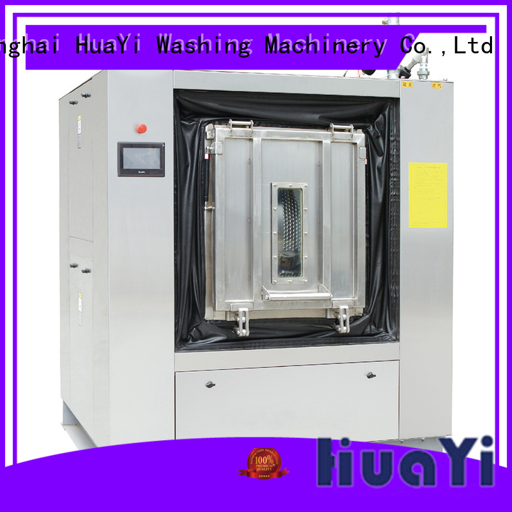 HuaYi automatic commercial laundry equipment at discount for restaurant