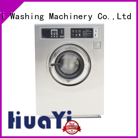HuaYi coin operated washing machine promotion for hotels