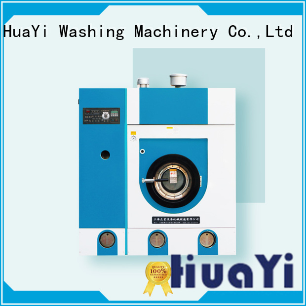 HuaYi convenient dry cleaning equipment directly sale for industry