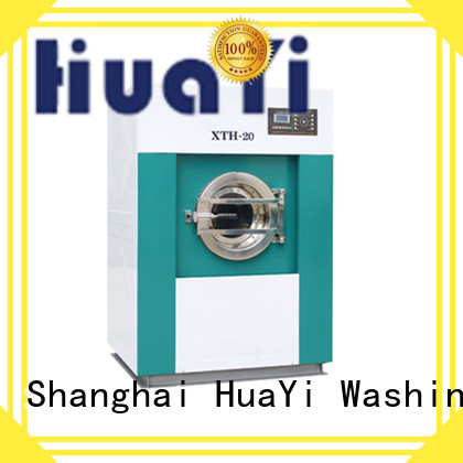 HuaYi low noise laundry machine price factory price for guest house