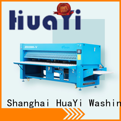 high speed industrial ironing and folding machine manufacturer for laundry shop