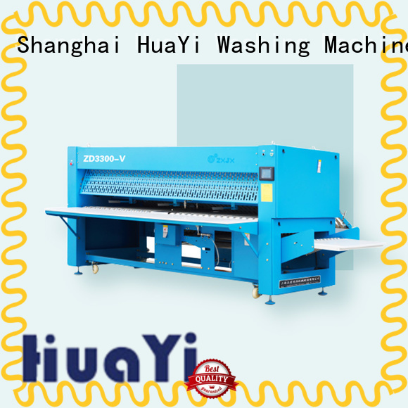 HuaYi precise commercial laundry folding machine factory price for laundry shop