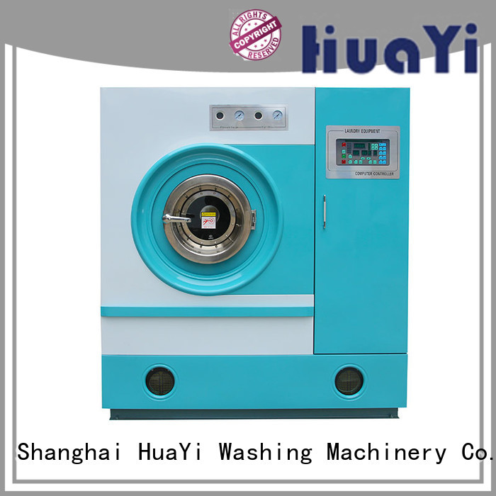 HuaYi flexible dry cleaner machine from China for industry