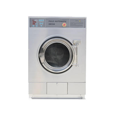 full automatic gas/ steam 12 15kg dryer machine coin card operated available