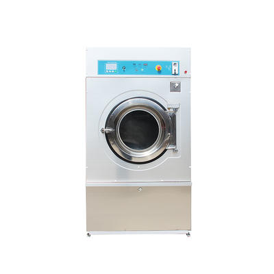 full automatic gas/ steam 25kg dryer machine coin card operated available