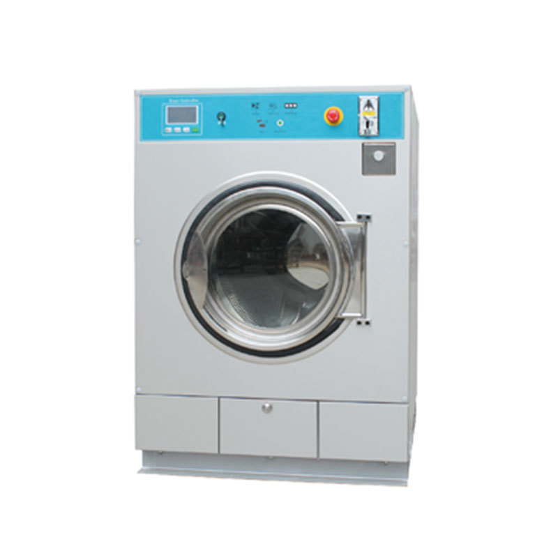 full automatic gas/ steam 12 15kg washing dryer machine coin card operated available
