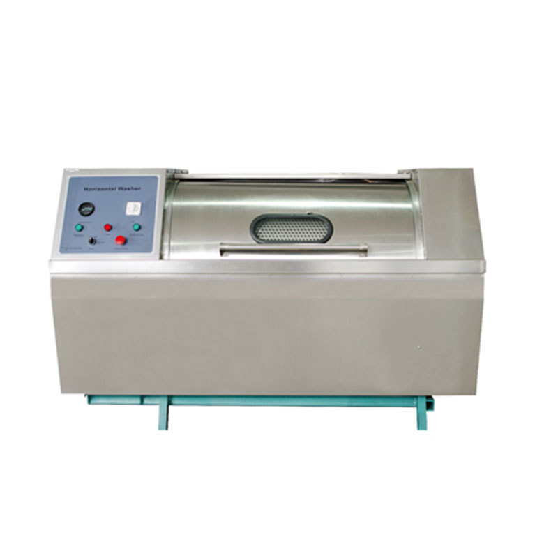 Stainless steel horizontal industrial  laundry equipment washer high capacity washing machine