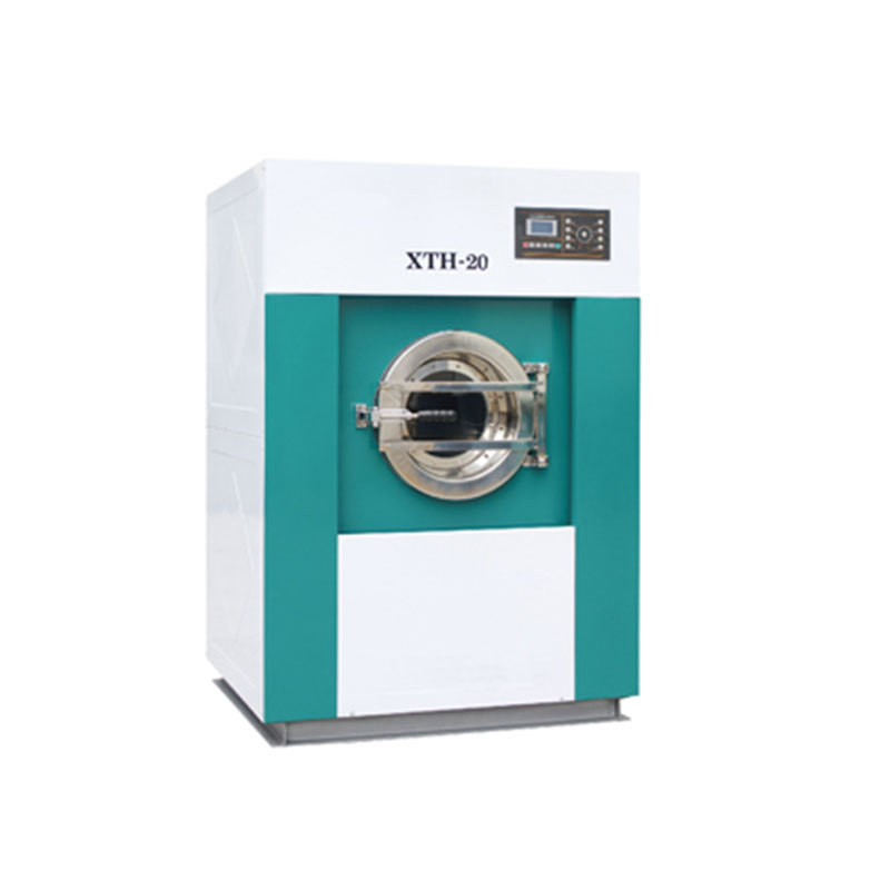 Industrial fully automatic laundry washer dryer machine in one commercial washing extractor