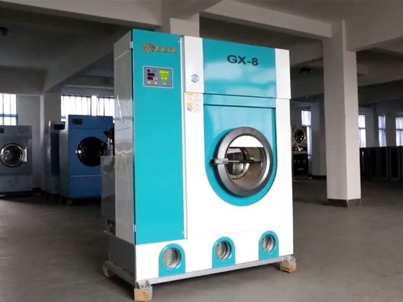 Video of  Dry cleaning machine