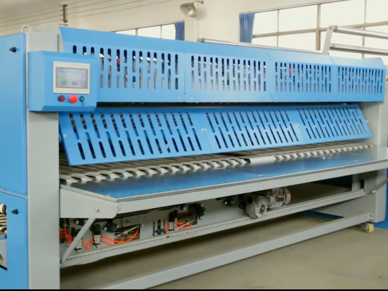 Video of  Folding machine