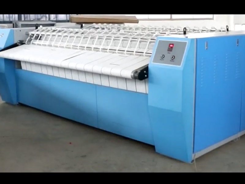 Video of Ironing machine