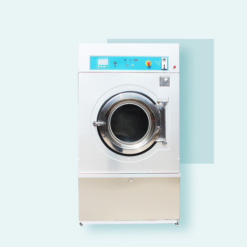 full automatic gas/ steam 25kg tumble dryer machine coin card operated available