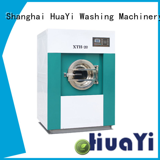 HuaYi industrial laundry machine at discount for guest house