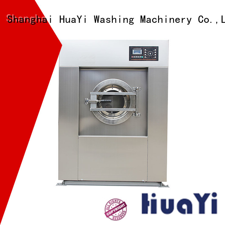 HuaYi industrial laundry machine promotion for washing industry
