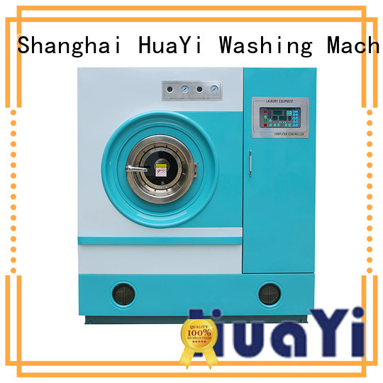 HuaYi convenient dry cleaning equipment from China for lundry factory