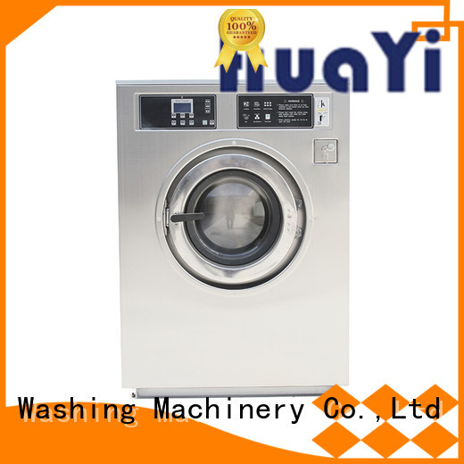 HuaYi washing machine with dryer promotion for social welfare homes