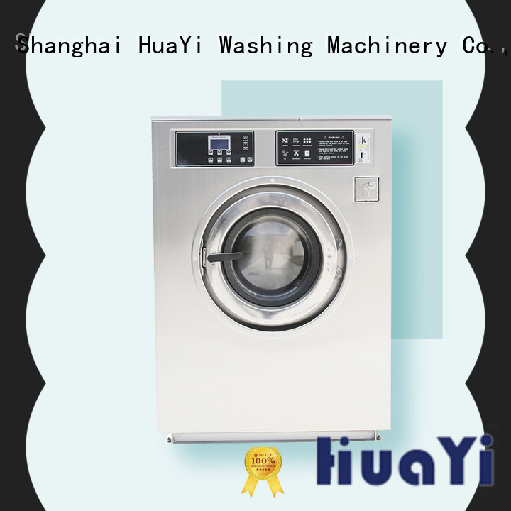 HuaYi industrial laundry machine promotion for restaurant