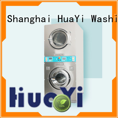 HuaYi high efficiency coin operated laundry directly sale for baths