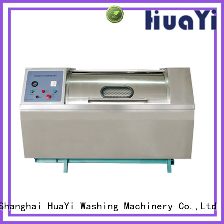 HuaYi commercial laundry washer at discount for hotel